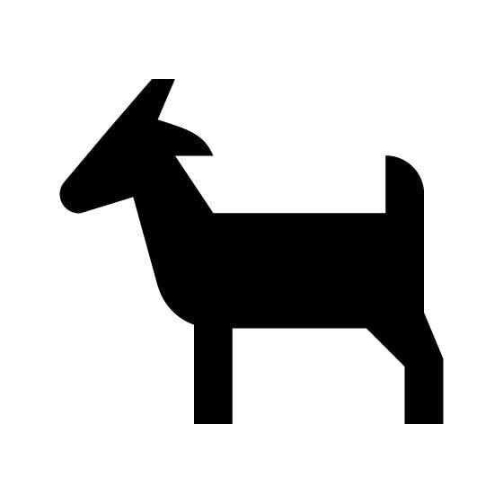 Antelope Decal Sticker V33