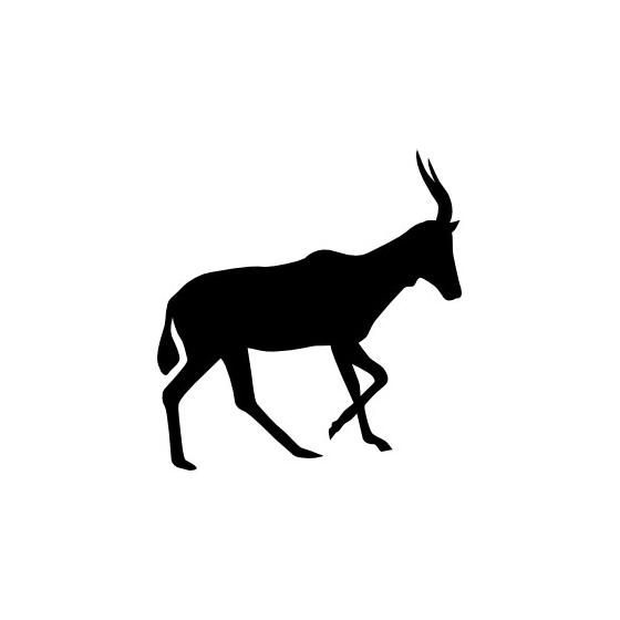 Antelope Decal Sticker V36