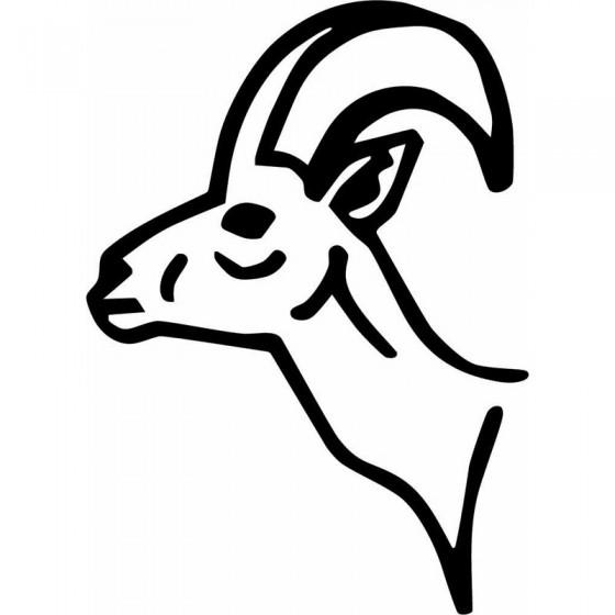 Antelope Decal Sticker V38