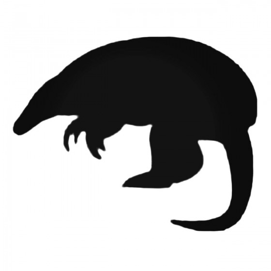 Armadillo Decal Sticker V21