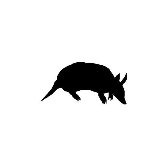 Armadillo Decal Sticker V33