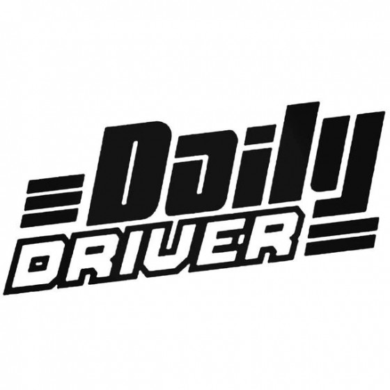 Daily Driver Decal Sticker