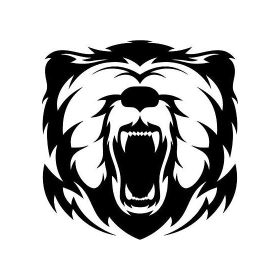 Bear Vinyl Decal Sticker V110