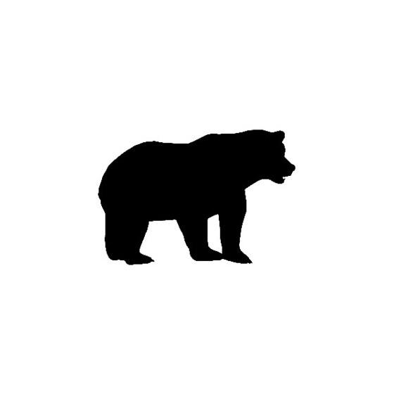 Bear Vinyl Decal Sticker V15