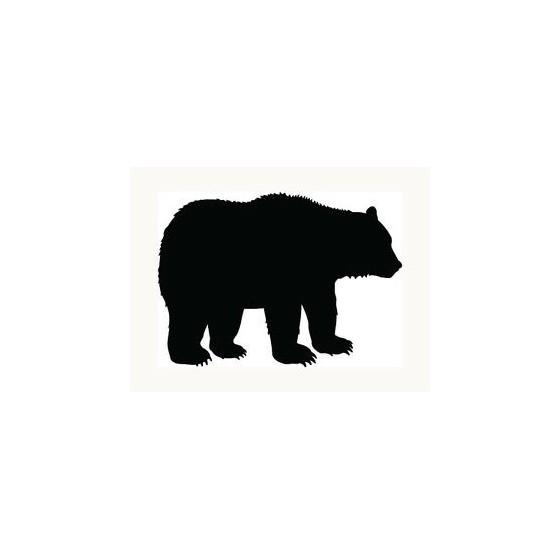 Bear Vinyl Decal Sticker V27