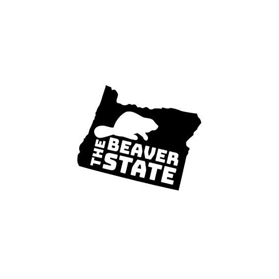 Beaver Decal Sticker V10