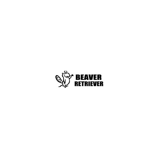 Beaver Decal Sticker V16