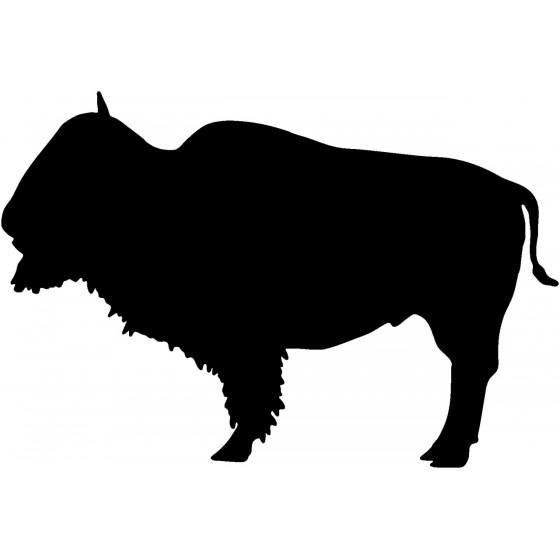 Bison Decal Sticker V2