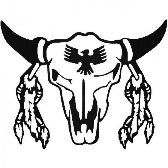Bison Decal Sticker V20