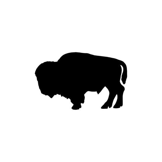 Bison Decal Sticker V21
