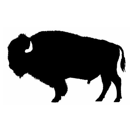 Bison Decal Sticker V25