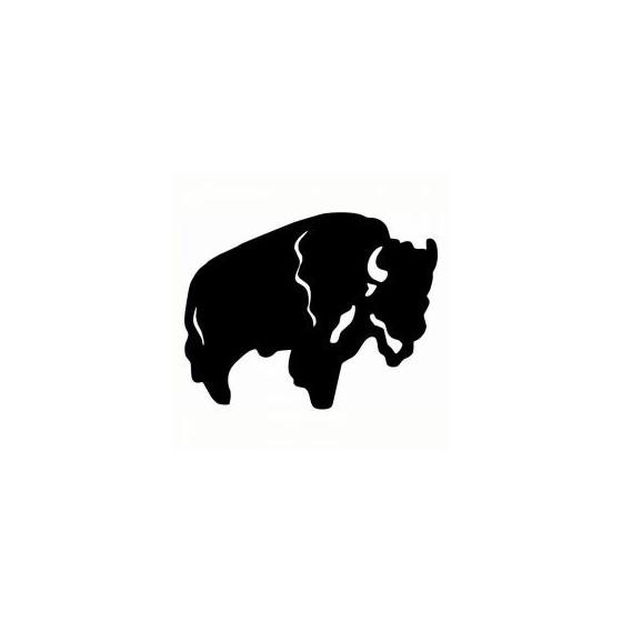 Bison Decal Sticker V34
