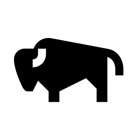Buffalo Vinyl Decal Sticker V9
