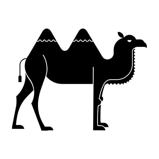 Camel Vinyl Decal Sticker V44