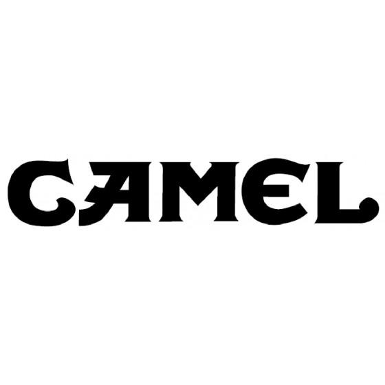 Camel Vinyl Decal Sticker V50