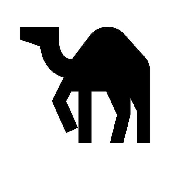 Camel Vinyl Decal Sticker V6