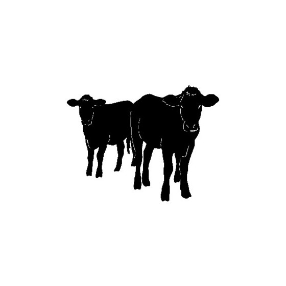 Cattle Vinyl Decal Sticker V11