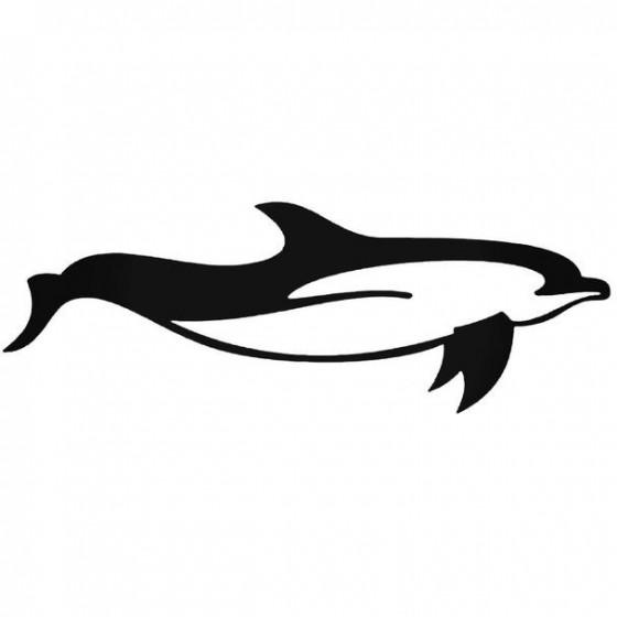 Dolfijn 1 Decal Sticker