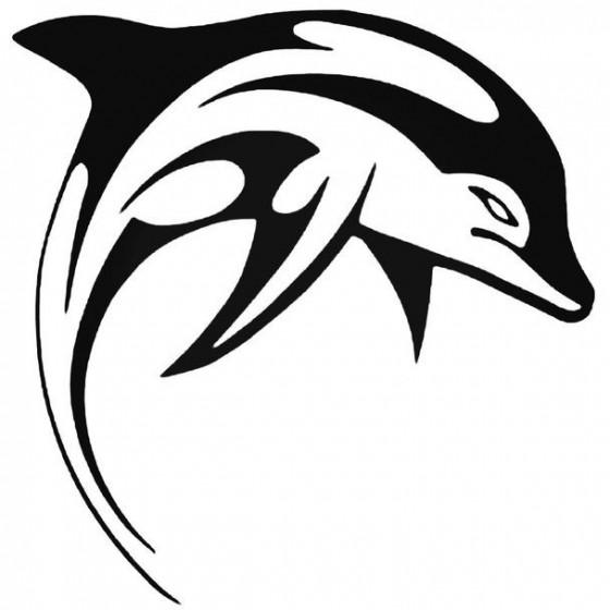 Dolfijn 3 Decal Sticker
