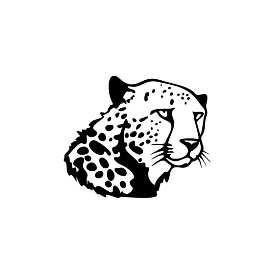 Cheetah Vinyl Decal Sticker V2