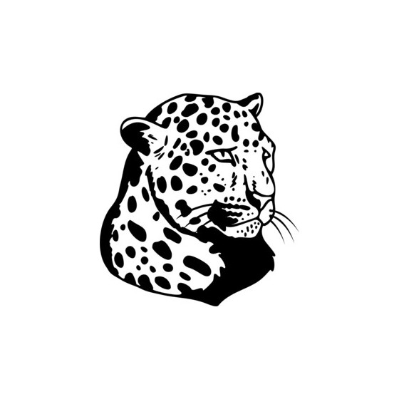 Cheetah Vinyl Decal Sticker V3