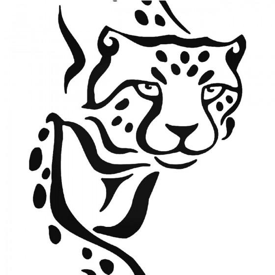 Cheetah Vinyl Decal Sticker V4