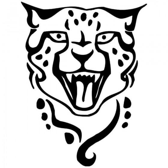 Cheetah Vinyl Decal Sticker V6