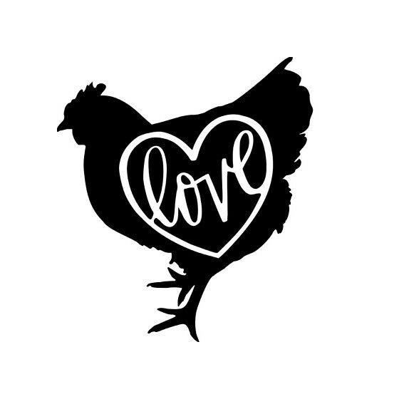 Chicken Vinyl Decal Sticker...