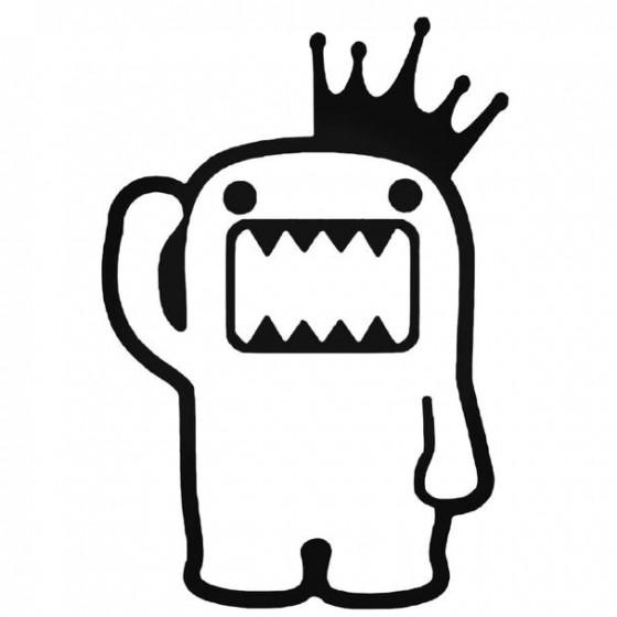 Domo King Jdm Decal Sticker