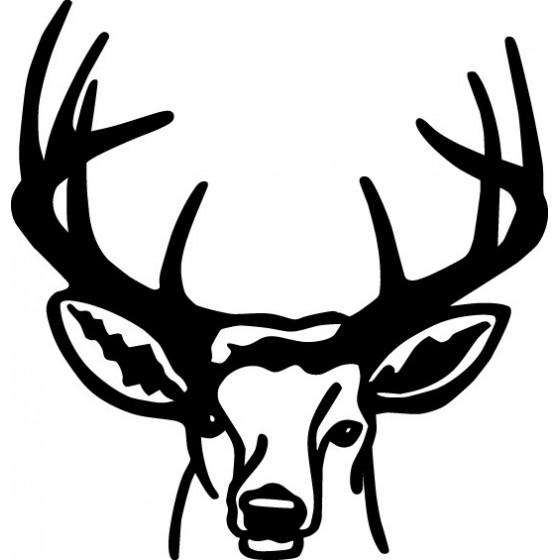 Buck Deer Vinyl Decal...