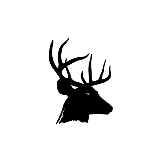 Buck Deer Vinyl Decal...