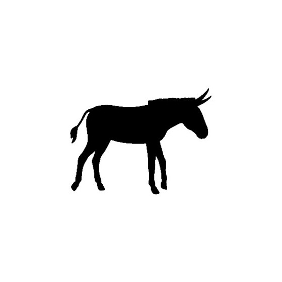 Donkey Vinyl Decal Sticker V10