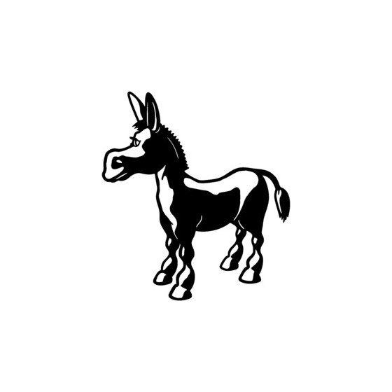 Donkey Vinyl Decal Sticker V11