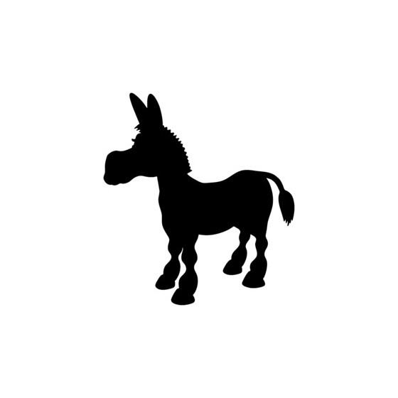 Donkey Vinyl Decal Sticker V12
