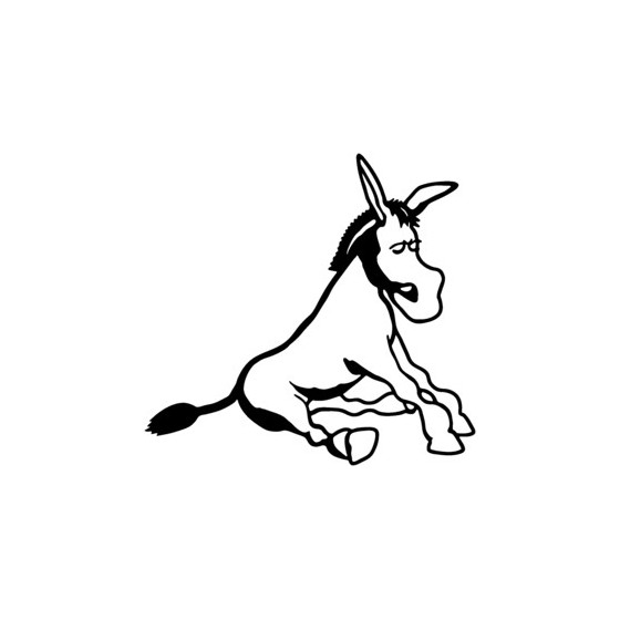 Donkey Vinyl Decal Sticker V13
