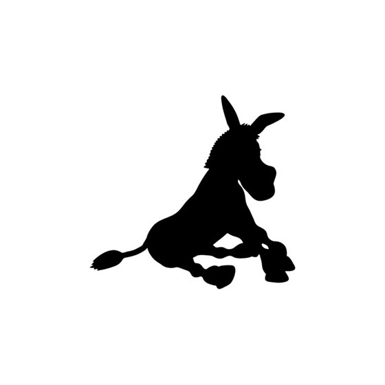 Donkey Vinyl Decal Sticker V14