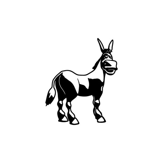 Donkey Vinyl Decal Sticker V15