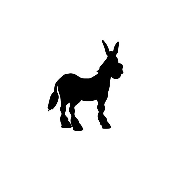 Donkey Vinyl Decal Sticker V16