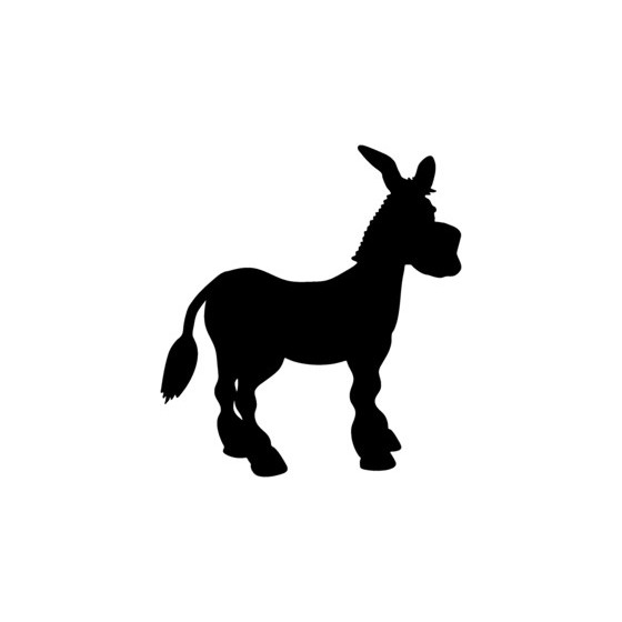 Donkey Vinyl Decal Sticker V18