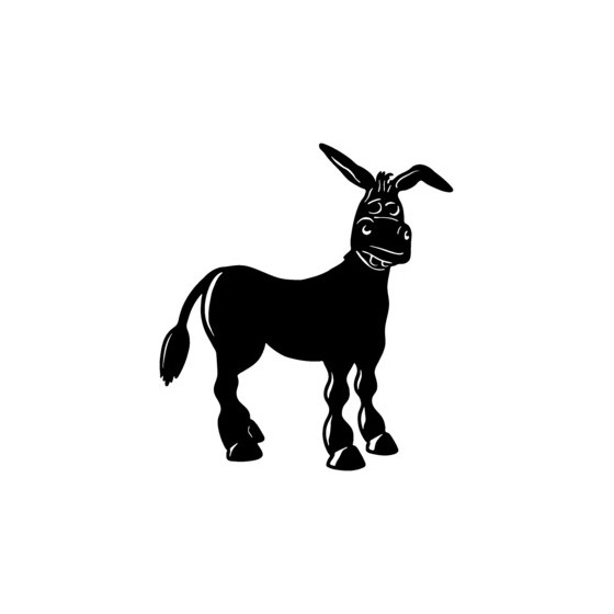 Donkey Vinyl Decal Sticker V19