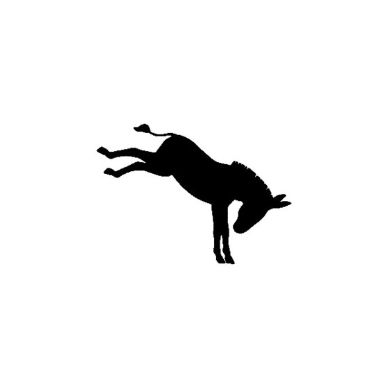 Donkey Vinyl Decal Sticker V2