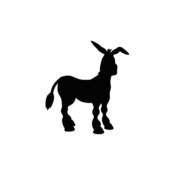 Donkey Vinyl Decal Sticker V20