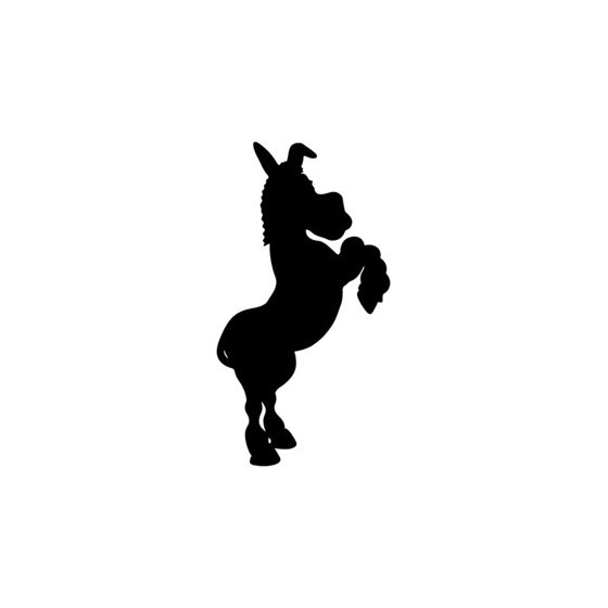 Donkey Vinyl Decal Sticker V22