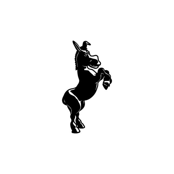 Donkey Vinyl Decal Sticker V23