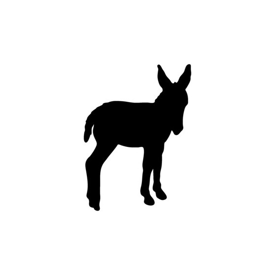 Donkey Vinyl Decal Sticker V24