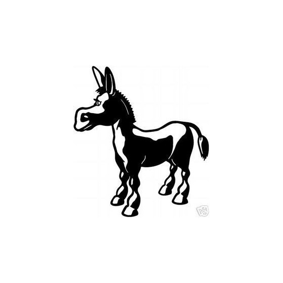 Donkey Vinyl Decal Sticker V26