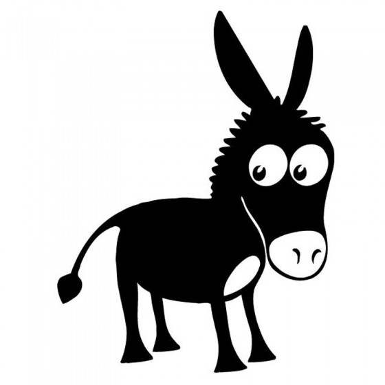 Donkey Vinyl Decal Sticker V27