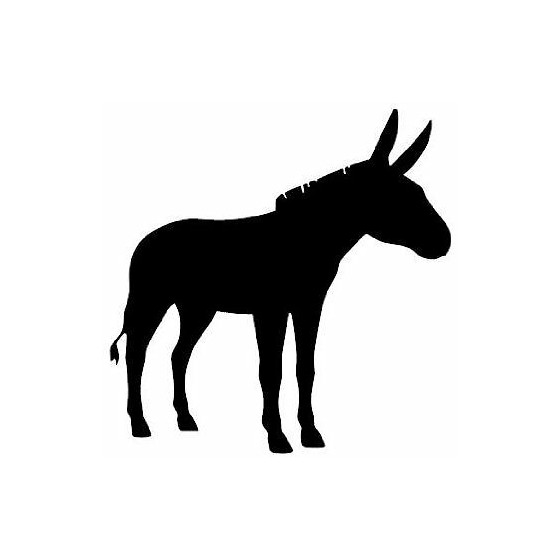 Donkey Vinyl Decal Sticker V28