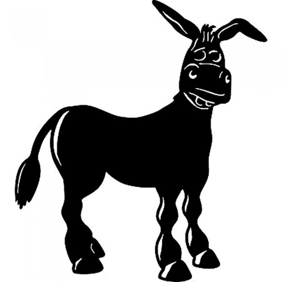 Donkey Vinyl Decal Sticker V29