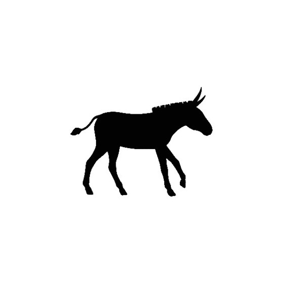 Donkey Vinyl Decal Sticker V3